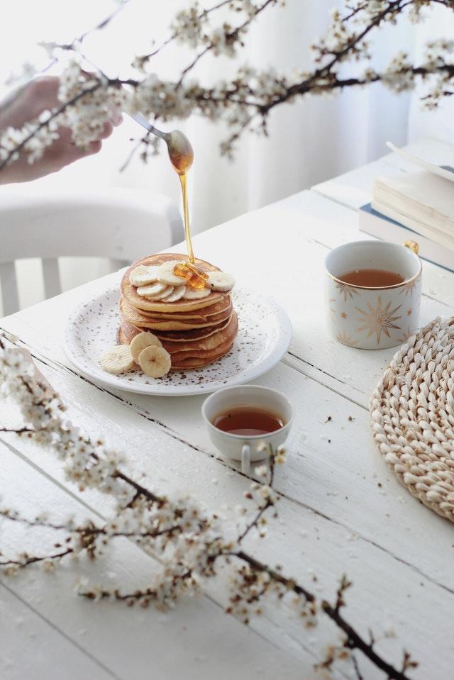 servir le thé à l'anglaise